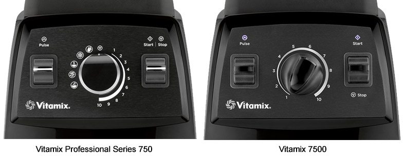 Vitamix 750 vs 7500