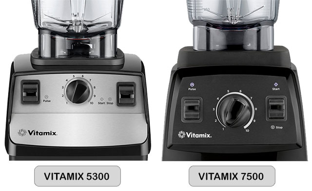 dial buttons for both vitamix 5300 and 7500