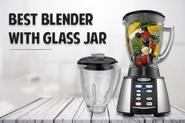 blender with glass jar